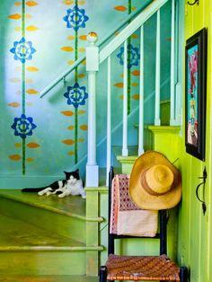Colour pop farmhouse