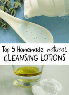 Natural cleansing lotions can be prepared so easy at home, using natural ingredients. I suggest you top 5 natural lotions that clean your skin!