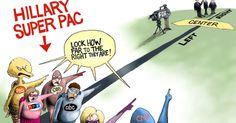 Hillary Clinton Favored Super PAC