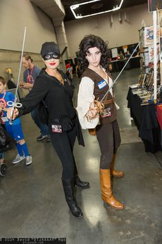 Dread Pirate Roberts and Inigo Montoya | Rose City Comic Con 2014 #DTJAAAAM