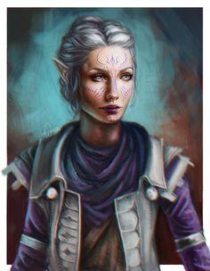 Ariya Lavellan by anoratheirin.deviantart.com on @DeviantArt