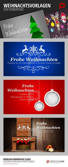 Kostenlose, professionelle Weihnachtsvorlagen für PowerPoint. Das gibt es nur bei PresentationLoad! Schauen Sie rein und lassen Sie sich überraschen! http://www.presentationload.de/weihnachtsvorlagen-animiert.html