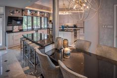 Designed by The Design Firm in Stafford, Texas  #interiors #interiordesignideas #design #interiordesign #interiordesigners #kitcheninspiration #kitchen