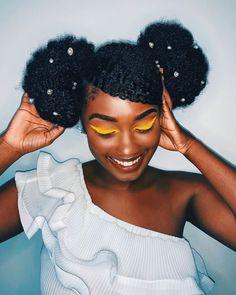4b Natural Hair, Protective Hairstyles For Natural Hair, Hair Afro, Afro Textured Hair, Black Hair Care, Black Girl Aesthetic, Natural Styles, Natural Hair Inspiration, Black Girls Hairstyles
