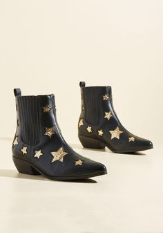 Size 9 - http://www.modcloth.com/shop/shoes-boots/starlet-light-starlet-bright-bootie