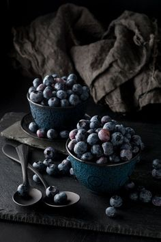 Food photography | Styling | Dark and moody food photo | Still Life, Blueberries, Food Photography, Photo Print, Large Wall Art on Etsy, $15.00