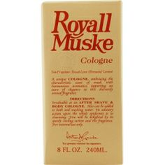 ROYALL MUSKE by #Royall #Fragrances AFTERSHAVE LOTION COLOGNE 8 OZ for MEN