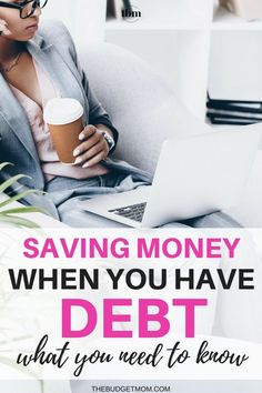 Saving Money When You Have Debt - What You Need to Know Saving money is crucial when you are paying off debt. Here is what you need to know about opening a savings account and an alternative approach you can use to save money. - The Budget Mom Money Saving Challenge, Money Saving Tips, Saving Ideas, Money Tips, Money Budget, Budgeting Finances, Budgeting Tips, Money Plan, Earn Money