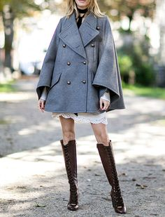 The 5 Chicest Coat Trends for 2015