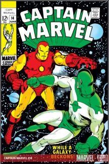 Captain Marvel (1968) #14