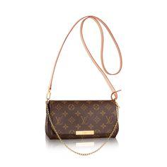 Discover Louis Vuitton Favorite PM via Louis Vuitton