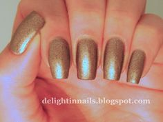 Delight In Nails: The Neverending Pile Challenge - Brown - Julep Amber