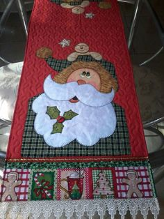 Quilted Table Runners Christmas, Christmas Placemats, Christmas Runner, Christmas Applique, Christmas Sewing, Diy Christmas Gifts, Christmas Art, Christmas Projects, Holiday Crafts