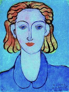 """Henri Matisse, """"A. Lydia"""""""