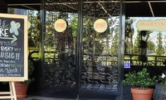 Cafe Fiore – Front Entrance Woodland Hills, Front Entrances, Ladder Decor, Gallery, Home Decor, Decoration Home, Room Decor, Interior Design, Home Interiors