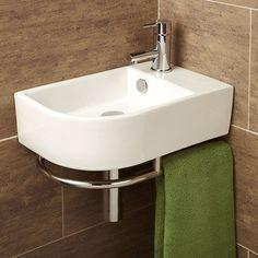 Kensington basin and washstand from Fired Earth | Bathroom basins | housetohome.co.uk