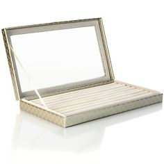 Hsn Jewelry Boxes Captivating Colleen's Prestige™ Dangle Earrings Jewelry Box At Hsn Design Decoration