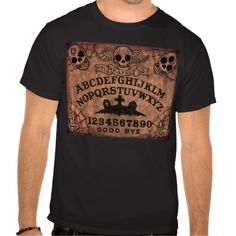 Day of the Dead witch board T Tee Shirt