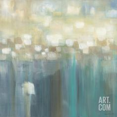 Aqua Light Art Print