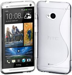 Cimo S-Line Back Case Flexible TPU Cover for HTC One (M7) - Clear - http://www.mobilebliss.com/cimo-s-line-back-case-flexible-tpu-cover-for-htc-one-m7-clear - http://ecx.images-amazon.com/images/I/51uXMLst5QL.jpg
