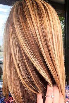 Hair Highlights - Brown hair with blonde highlights. Hair Highlights - Brown hair with blonde highlights. Brown Hair With Blonde Highlights, Hair Color Highlights, Blonde Color, Red Blonde, Carmel Highlights, Carmel Blonde Hair, Ombre Colour, Summer Highlights, Blonde Honey