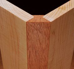 Wood Corner Joint More