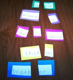 Counting Syllables activity