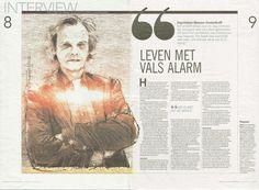 Menno Oosterhoff, kinder- en jeugdpsychiater over leven met dwang. Artikel uit het Dagblad van het Noorden.