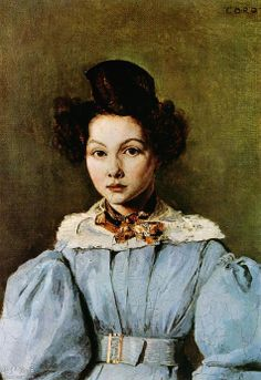 Marie Louise Sennegon - Camille Corot. Artist: Camille Corot. Completion Date: 1831.