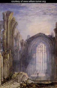 Melrose Abbey - Joseph Mallord William Turner