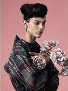 Aymeline Valade Looks East by Paul Wetherell for AnOther Magazine S/S2013 - 3 Sensual Fashion Editorials | Art Exhibits - Anne of Carversville Women's News