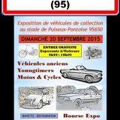 Vous aimez l'automobile ! Ca tombe bien, une exposition de voitures anciennes au stade de Puiseux Pontoise ce dimanche 20 septembre de 9h à 18h