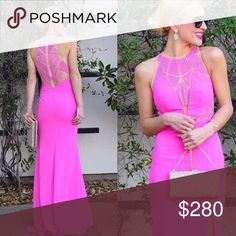 Perfect Condition Camilla long evening gown Pink camille gown camille la vie Dresses Prom