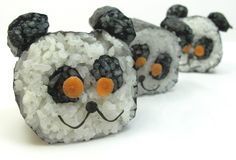 Skillful and delicious! To make your own creative sushi like this at home, visit Saitaku online.
