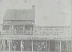 Doust Shops in Camden in south west Sydney in the Camden Nsw, South Wales, Vintage Pictures, Colonial, Paris Skyline, Sydney, Past, Shops, Australia