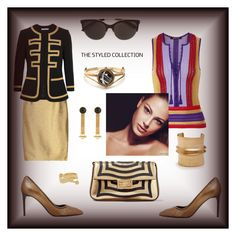 """""""The styled collection"""" by zabead ❤ liked on Polyvore featuring Fendi, Tom Ford, Roberto Cavalli, Elie Top, Etro, Givenchy, Victoria Beckham, Balenciaga and Aurélie Bidermann"""