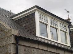 dormer window with sash windows Dormers, House Design, Windows, Wooden Terrace, Windows Exterior, Dormer Windows, Shed Dormer, Loft Conversion Bedroom, Craftsman House