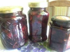 Süti és más...Fejtett cseresznye(meggy) eltevése Mason Jars, Mason Jar, Glass Jars, Jars