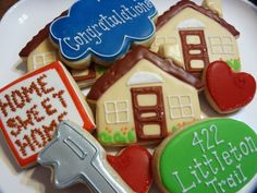 House warming cookies