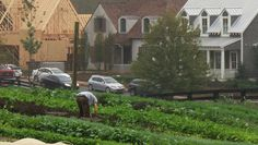 Life in the suburbs is changing as more and more communities are springing upon around working farms