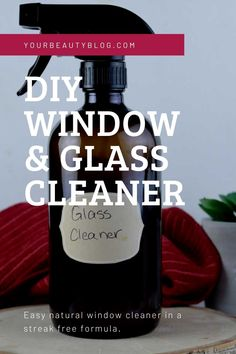 DIY Homemade Window and Mirror Cleaner With Arrowroot Powder Natural Window Cleaners, Diy Window Cleaner, Mirror Cleaner, Diy Cleaning Products, Cleaning Solutions, Cleaning Hacks, Essential Oils Cleaning, Lemon Essential Oils, Arm And Hammer Super Washing Soda