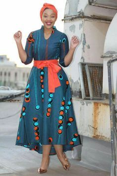 20 Ankara Maxi Gown to wear for anytime - Reny styles African Dresses For Women, African Print Dresses, African Fashion Dresses, African Attire, African Wear, African Women, African Prints, Ankara Fashion, African Style