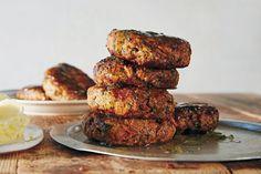Lamb Recipes, Burger Recipes, Cooking Recipes, Meatball Recipes, Seafood Recipes, Rissoles Recipe, Masterchef Recipes, Thing 1, Roasted Sweet Potatoes
