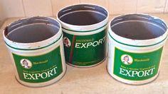 Anciennes boîte de tabac EXPORT
