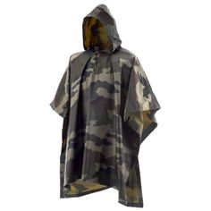 Game Winner® Adults' Camo Poncho