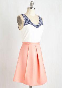 Shorefront Sherbet Dress | Mod Retro Vintage Dresses | ModCloth.com