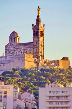 https://flic.kr/p/w3MwR5 | Marseille 2014 - 263 Notre-Dame de La Garde au-dessus du Vieux Port