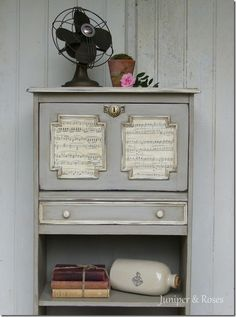 Sheet Music Piece @Juniper and Roses