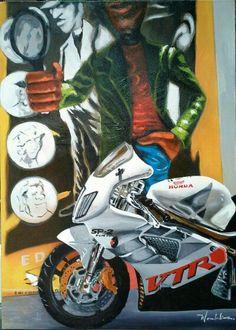 Moto AST 40x55cm
