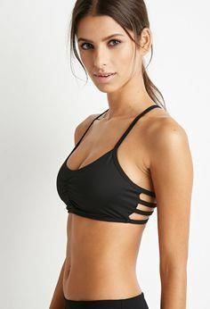 d307aaf600 Low Impact - Caged-B Low Impact - Caged-Back Sports Bra